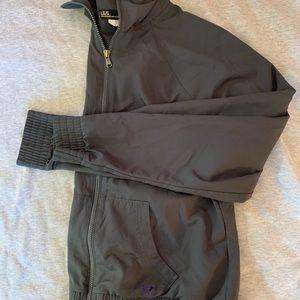 Grey Lightweight Under Armour Zip-Up Jacket